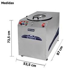 Amassadeira Rapida Inox 25 Kg - Metvisa - Ari25380t