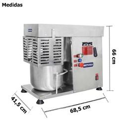 Batedeira Mecanica De Massas Leves 12l  - Metvisa  -  Bam12