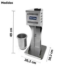 Batedor De Milk Shake Industrial - Bmk -  Metvisa