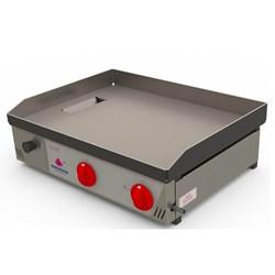 Chapa Bifeteira A Gás 65 Cm 2 Queimadores Progas -  PR-650G