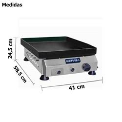 Chapa De Fritura A Gas 40cm - Metvisa - CFG04