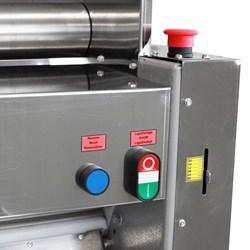 Cilindro Laminador Industrial  De  Massas 510mm  Com Cavalete - Clmc  - Metvisa