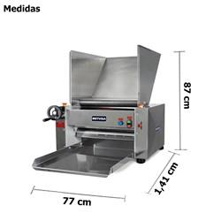 Cilindro Laminador Industrial De Massas 510mm Mesa - Clmm - Metvisa