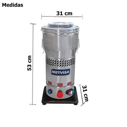 Cutter  Cortador De Alto Redimento 4 Litros Industrial - Cut4 -  Metvisa