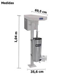 Despolpadeira  De  Açai Industrial 20 Litros - Dg20 -  Metvisa