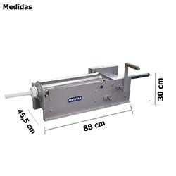 Ensacadeira  De  Linguica 10kg Inox - El10-  Metvisa