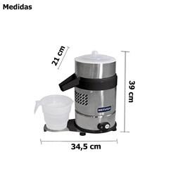 Extrator Espremedor De Suco Laranja Industrial Com Suporte - Metvisa - Essp