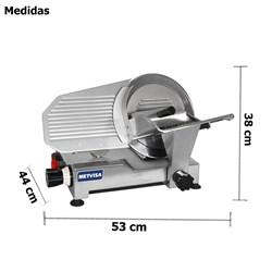 Fatiador De  Frios Inclinado 275mm Manual Profissional - Cfe275 - Metvisa