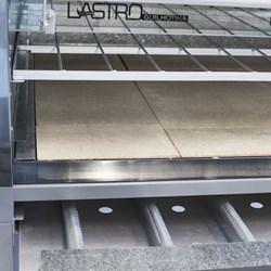 Forno Lastro Guilhotina Gas 40 Cm  Cavalete- Metvisa - FLGG40