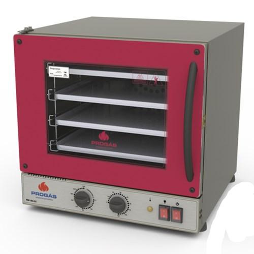 Forno Turbo Elétrico Fast Oven Vermelho 39 Litros 2000W Progas - PRP-004