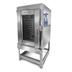 Forno Turbo Gas 10 Esteiras - Total  Inox - Metvisa - Ftg300bt