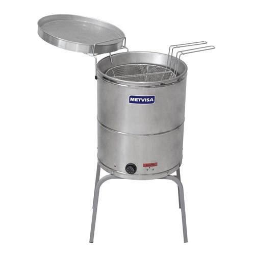 Fritadeira  Industrial Agua E Oleo  Eletrica  Bi-Partido 20litros - Fie20bip -  Metvisa