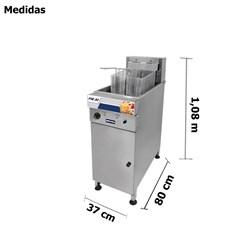 Fritadeira Industrial Eletrica 30 Litros - Metvisa - FIE30
