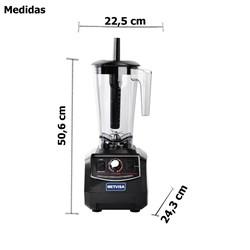 Liquidificador Alta Rotação  2,8 Litros - Bl768 -  Metvisa