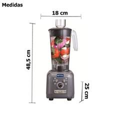 Liquidificador de Alta Rotação 1,4 Litros 1 CV Hamilton Beach Metvisa - HBF500 - 220V