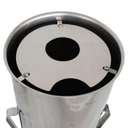 Liquidificador Industrial 4 Litros Inox Lql4 Metvisa