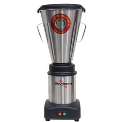 Liquidificador Industrial 6 Litros Skymsen  0,5CV Monobloco em Inox Super - LS-06MB