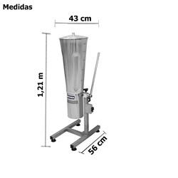 Liquidificador Industrial Basculante 25 Litros Inox - Metvisa - LQ25