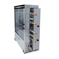 Máquina de assar frango a gás 4 Espeto 40Kg - Metvisa - ASER40