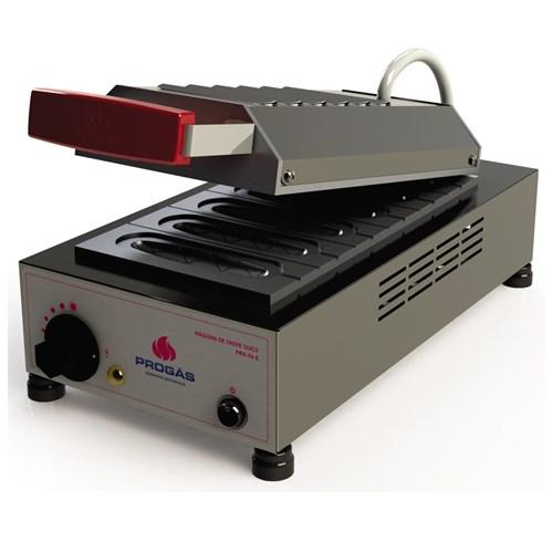 Máquina de Crepe Suíço (Crepeira) Eletrica 6 Cavidades Progas - PRK-06 220V