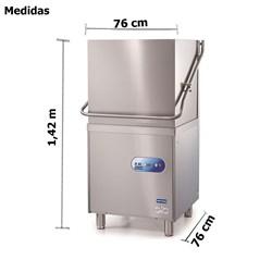 Maquina  De Lavar Louça Industrial De Rapido Ciclo - B50 - Metvisa