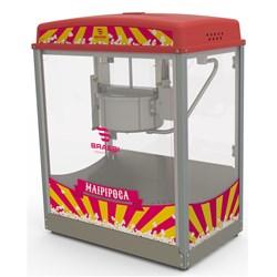 Máquina de Pipoca (Pipoqueira) Profissional 1000W em Inox Braesi -  BMC-150 220V