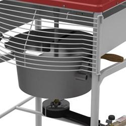 Misturador Misturela 15 Litros The Mix a gás Motor 1/4CV Progas - PRMQ-15 Bivolt