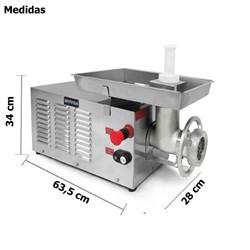 Picador Moedor  De  Carnes Boca  10 Estanho - Pcl10220m - Metvisa