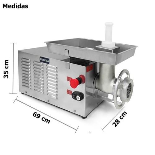 Picador Moedor  De  Carnes Boca  22 Estanho - Pcl22220m - Metvisa