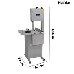 Serra Fita 2,18 M Inox Média - Metvisa - SFMI