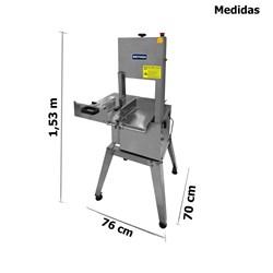 Serra Fita 2,18m Inox Media Motor 3/4cv - Sfmilm - Metvisa