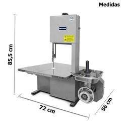Serra Fita Com Picador 1,78m Boca 8 - Metvisa - SFP8L