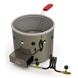 Tacho de Fritura a gás 3 Litros em Aço Inox Progas - PR-310G